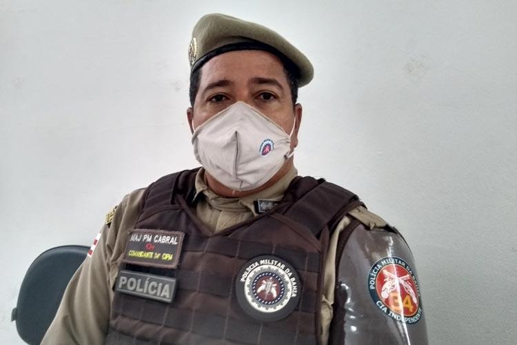 Campanhas eleitorais em Brumado estão dentro da ordem, destaca Major Cabral