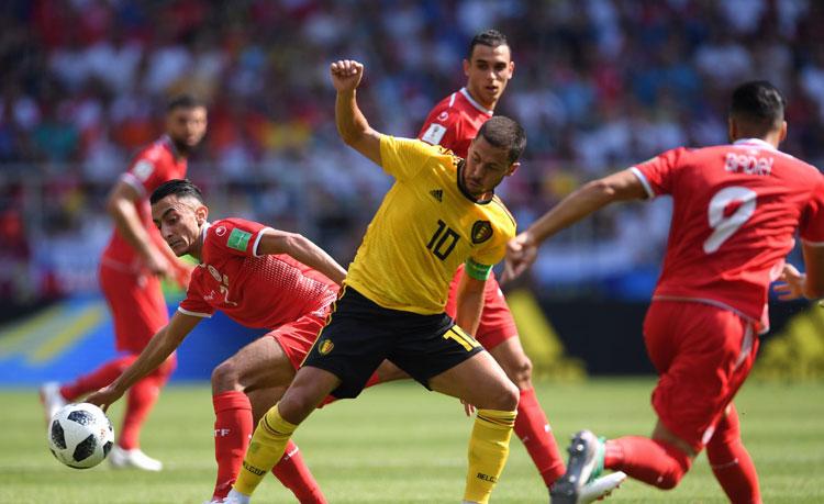 Copa do Mundo 2018: Bélgica arrasa Tunísia e encaminha classificação