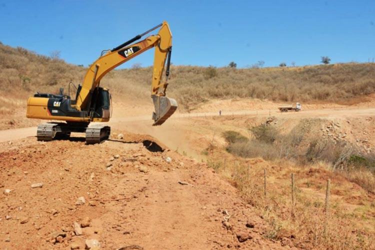 BA-263: Obras de pavimentação entre Licínio e Urandi devem terminar em dezembro