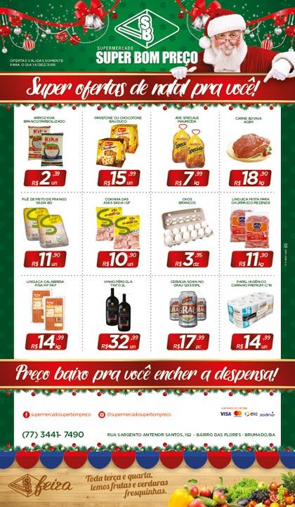 Confira as promoções do Supermercado Super Bom Preço para este sábado (14)