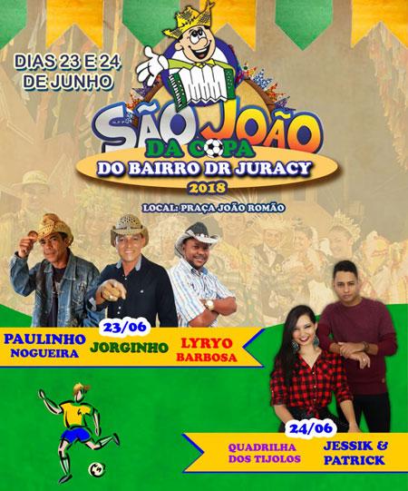 Próximo final de semana tem o tradicional São João do Bairro Dr. Juracy em Brumado
