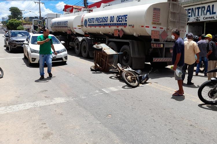 Brumado: Radar ou semáforos devem ser instalados a fim de conter constantes acidentes na Coronel Santos