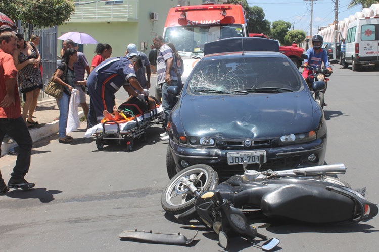 Brumado: Dados do Samu 192 apontam aumento no índice de acidentes de moto no segundo semestre de 2018