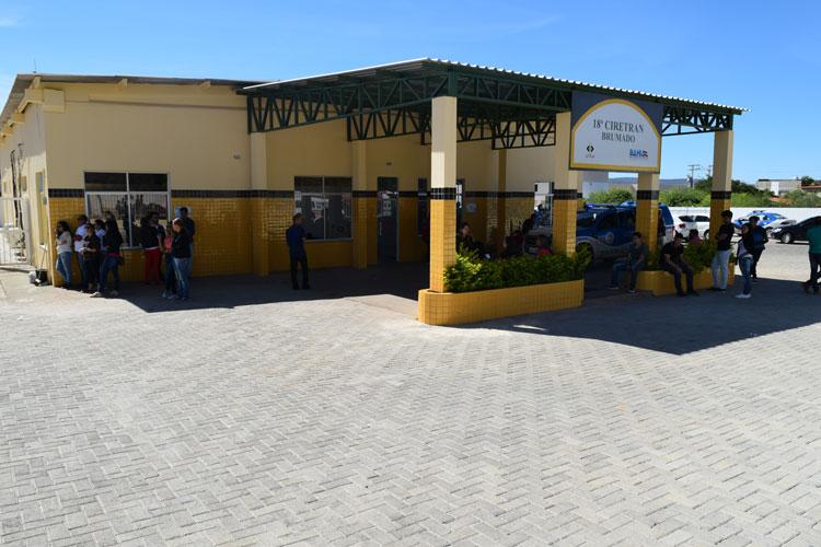 Brumado: Ifba e nova sede da 18ª Ciretran devem entrar na agenda de inaugurações do governo