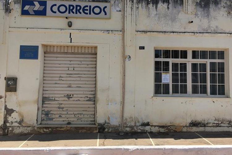 Populares cobram atendimento nos Correios em Palmas de Monte Alto