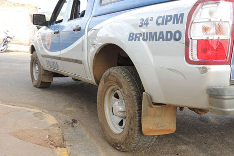 Brumado: Indivíduo com mandado de prisão em aberto é preso no Bairro São José