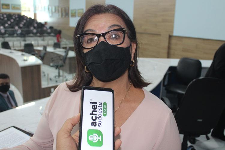 Brumado: Vereadora Lia Teixeira defende projeto do Executivo de remanejamento orçamentário