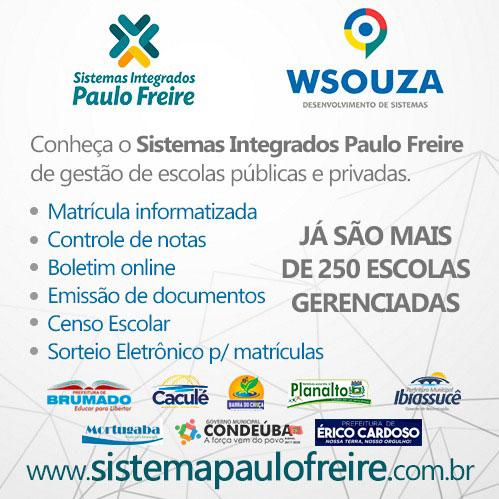 WSouza desenvolve sistemas sob medida para empresas e administração pública
