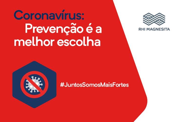 Brumado: RHI Magnesita alerta para a prevenção no combate ao novo coronavírus