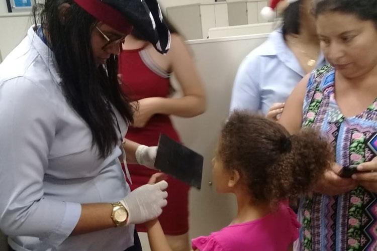 Brumado: SAC emite 100 RGs para crianças de até 10 anos através do projeto Pequeno Cidadão