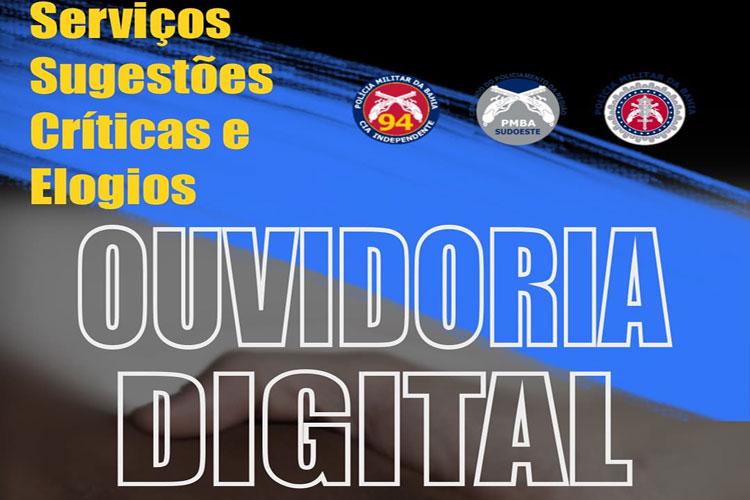 Caetité: 94ª CIPM institui novo canal de comunicação para implementação da Ouvidoria Digital