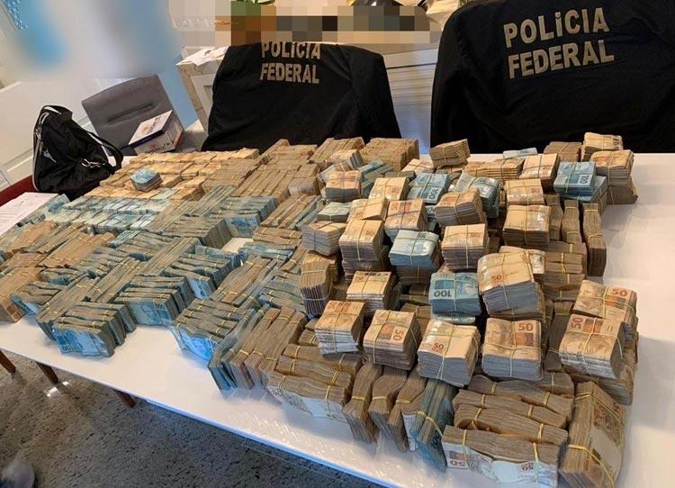 Rio de Janeiro: PF apreende R$ 3,5 milhões na casa de investigado em fraude nos Correios