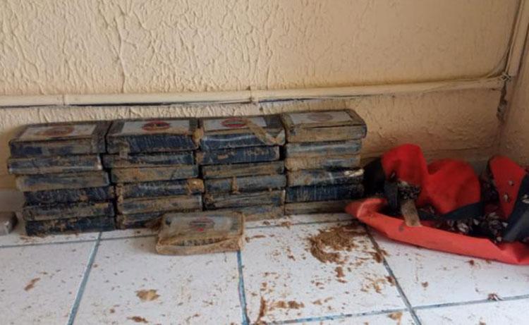 Pasta base de cocaína avaliada em R$ 1 milhão é encontrada em praia de Nova Viçosa