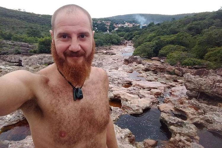 Turista italiano entra em contato com a família após dias sem comunicação na Chapada Diamantina