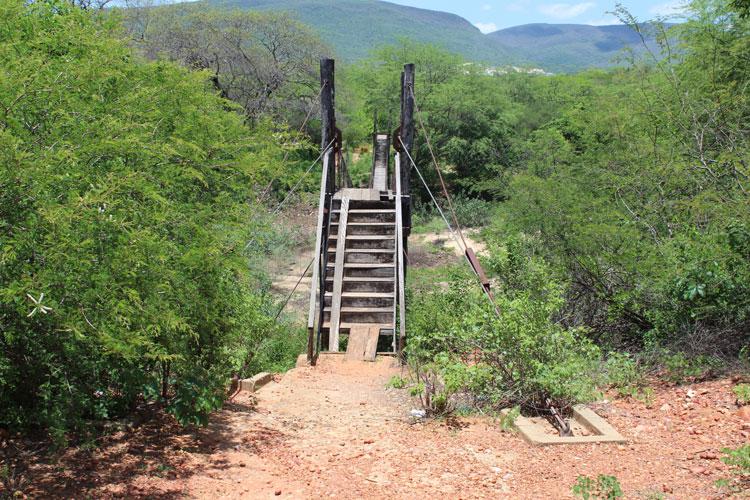 Brumado: Antigo caminho dos operários da mineração, pinguela do Campo Seco necessita de reparos