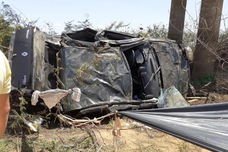 Lagoa Real: Uma pessoa morre em grave acidente na BA-940