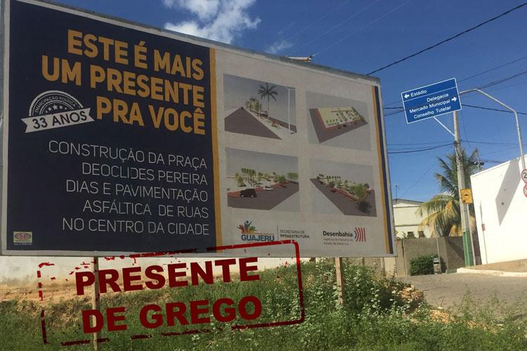 Guajeru: Obras anunciadas pela prefeitura escondem dívida milionária, diz vereador