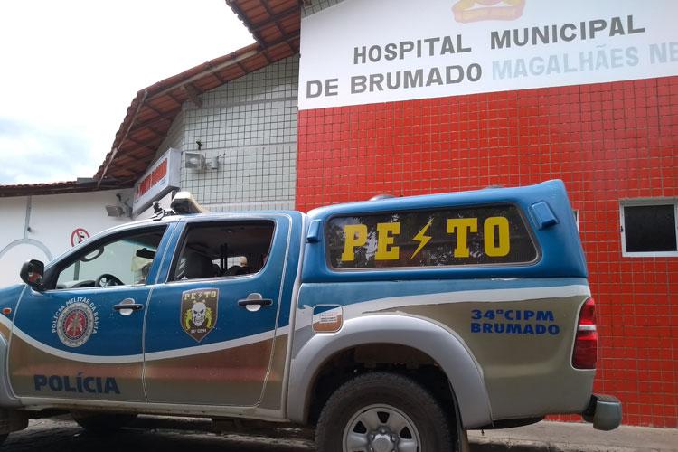 Brumado: Indivíduo em moto ignora ordem de parada, tentar atirar contra policial, mas é alvejado