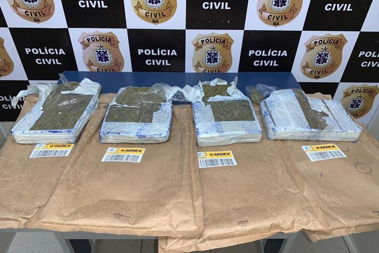Vitória da Conquista: Polícia desmonta esquema de tráfico de drogas que funcionava via Sedex