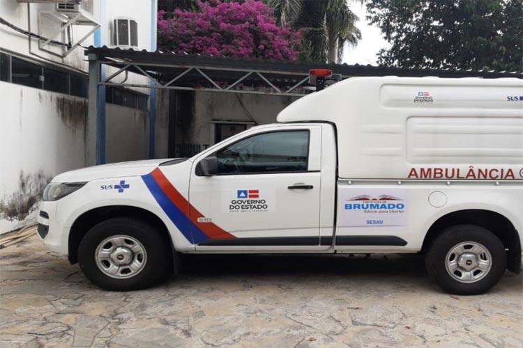 Brumado recebe ambulância especializada para fortalecer o combate à Covid-19 na região