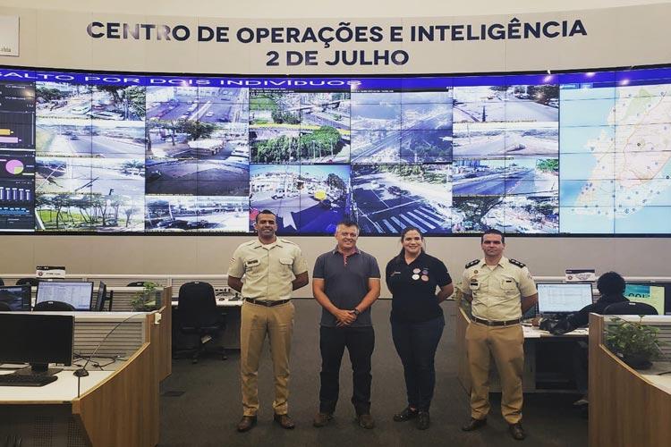 Conseg de Brumado conhece instalações do Centro de Operações e Inteligência de Salvador