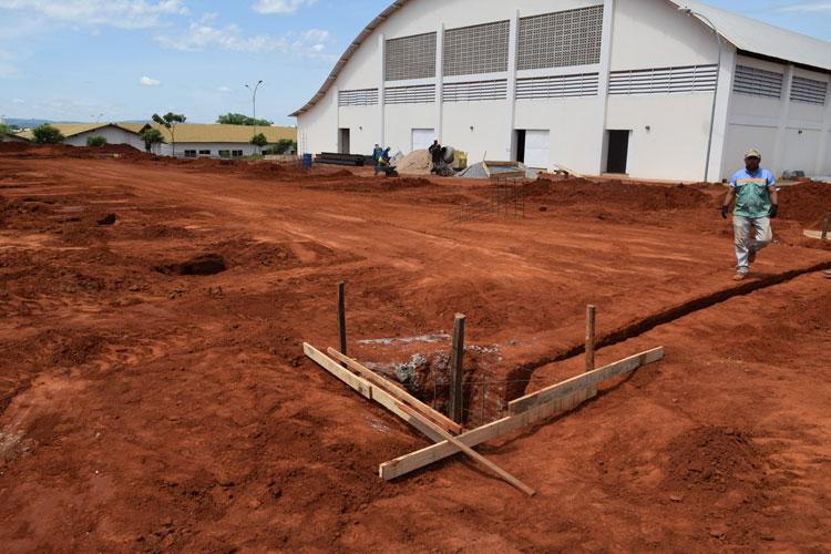 Em fase de expansão, Ifba de Brumado inicia construção de galpão da mineração