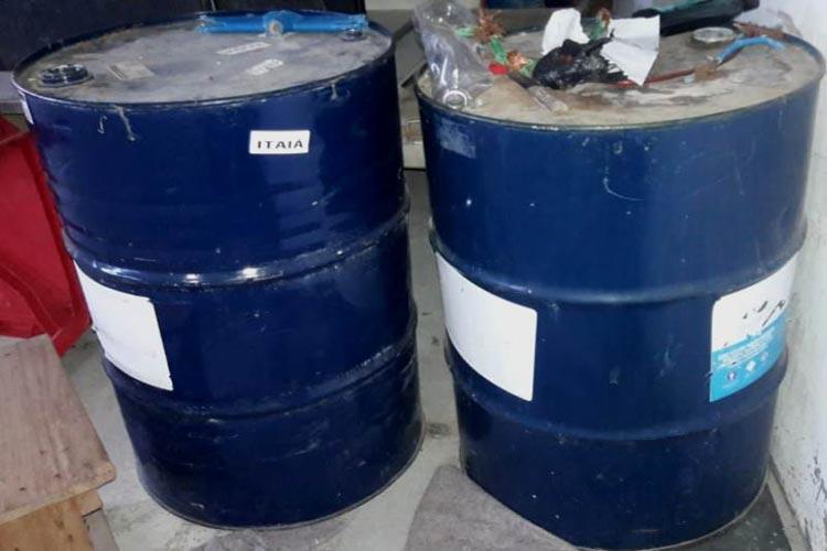 Polícia Civil localiza depósito clandestino de combustíveis na cidade de Itapetinga