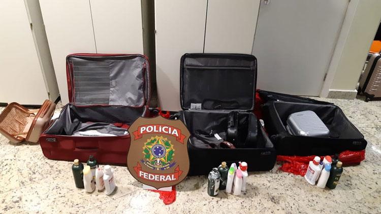 Três mulheres são presas tentando embarcar da Bahia para Portugal com cocaína