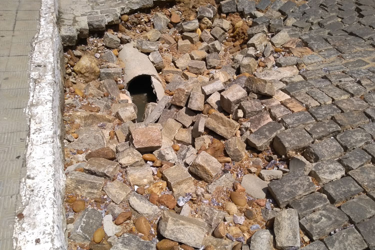 Brumado: Prefeitura volta a culpar embasa pelos danos causados pelas chuvas