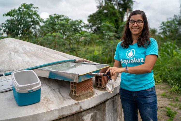 Baiana é premiada pela ONU por solução para filtrar água