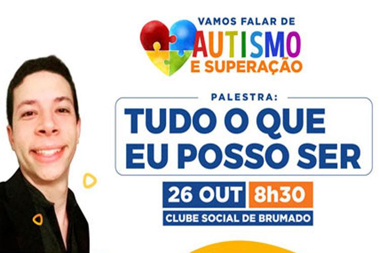 Autismo e superação será a temática da palestra para famílias e educadores promovida pelo Rotary Brumado