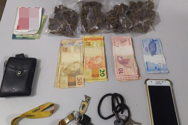 Rio de Contas: Dois homens são presos com maconha