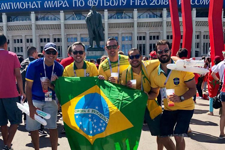 Brumadenses curtem a Copa do Mundo 2018 na Rússia