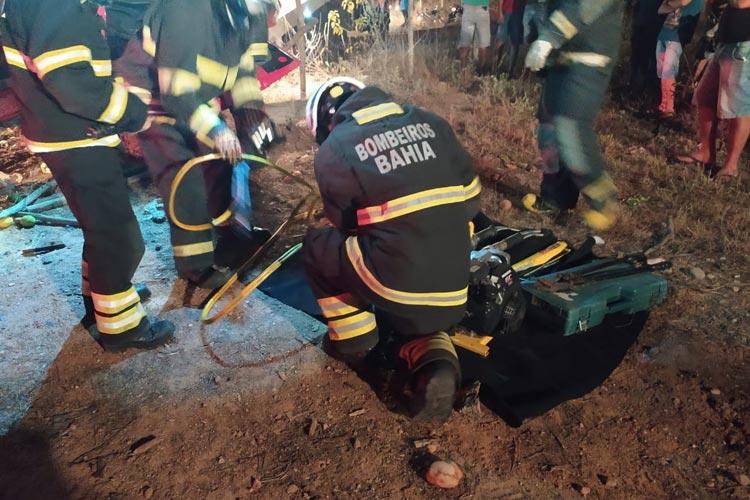 Brumado: Menor que sofreu acidente de caminhão em Umburanas passa por cirurgia e se recupera bem