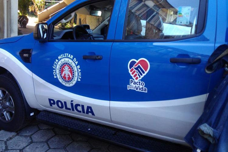 Brumado: Polícia Militar recebe nova viatura do comandante geral da PM