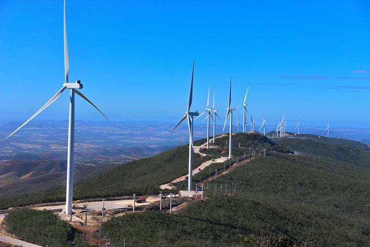 Bahia gerou mais de 30% da energia eólica e solar  do Brasil em 2019