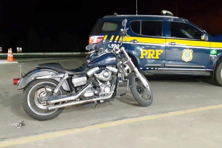 Vitória da Conquista: Empresário é detido com Harley Davidson furtada no estado de São Paulo