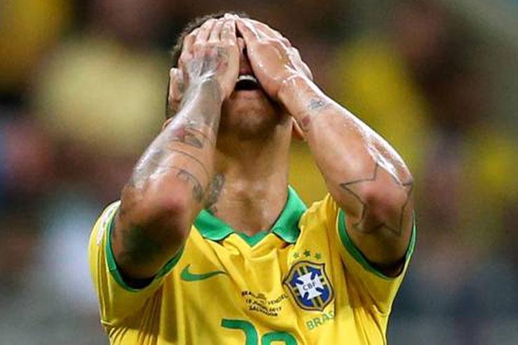 Copa América: Sob vaias, Brasil empata com Venezuela