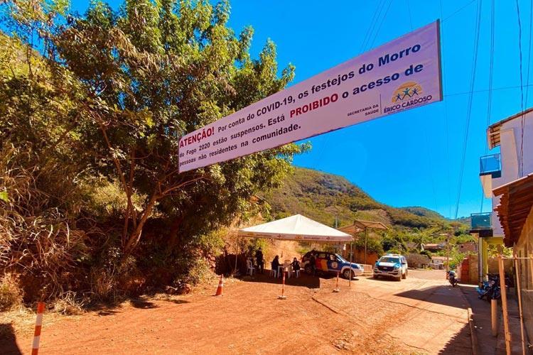 Érico Cardoso: Celebração a Nossa Senhora do Carmo em Morro do Fogo ocorre sem aglomerações
