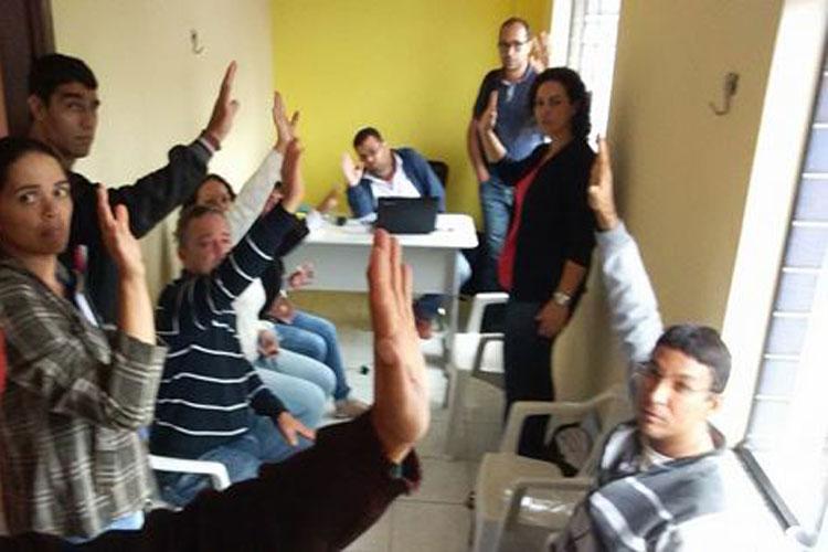 Sem acordo, professores de Barra da Estiva entram em greve por tempo indeterminado