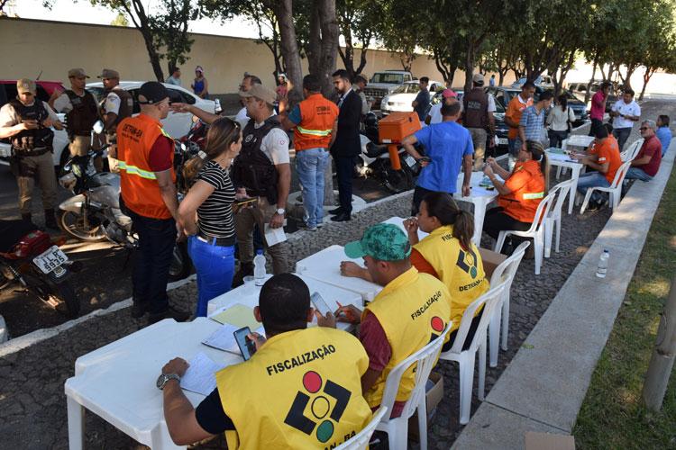Iniciada operação paz no trânsito em Brumado