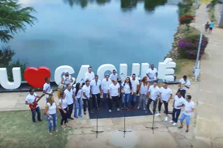 Artistas locais gravam clipe em homenagem aos 100 anos do município de Caculé