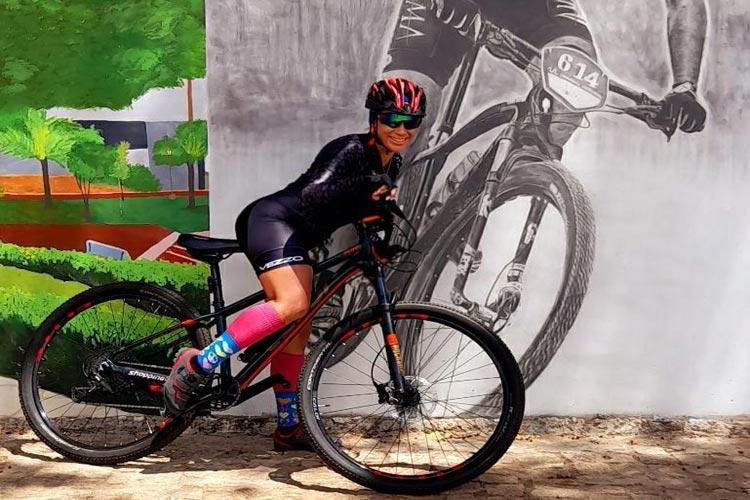 Superando os limites, ciclista brumadense faz 290 km de pedal, ida e volta a Paramirim