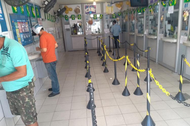 Brumado: Cai a demanda nas casas lotéricas após suspensão de pagamento de contas de energia