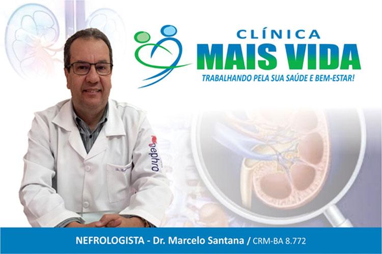 Nefrologista da Clínica Mais Vida alerta sobre as complicações do mal funcionamento dos rins