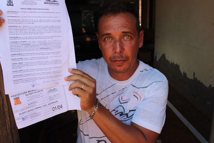 Brumado: Família inicia batalha na justiça com a prefeitura por indenização de casa inundada pela chuva