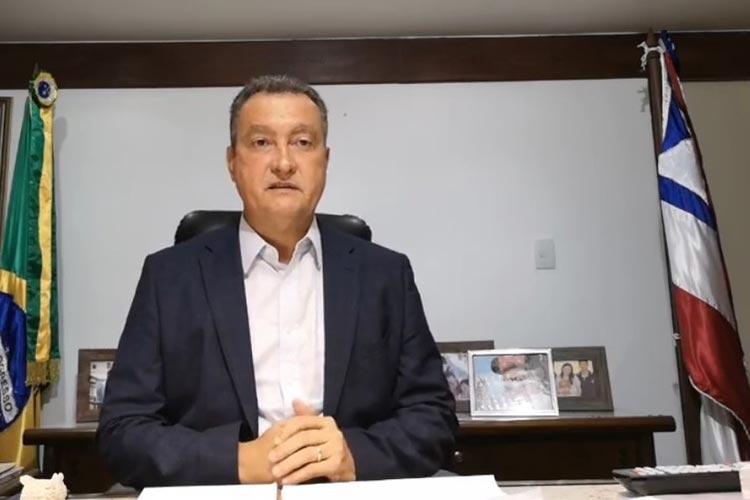 Covid-19: Rui Costa prorroga suspensão de aulas, transporte e atividades na Bahia