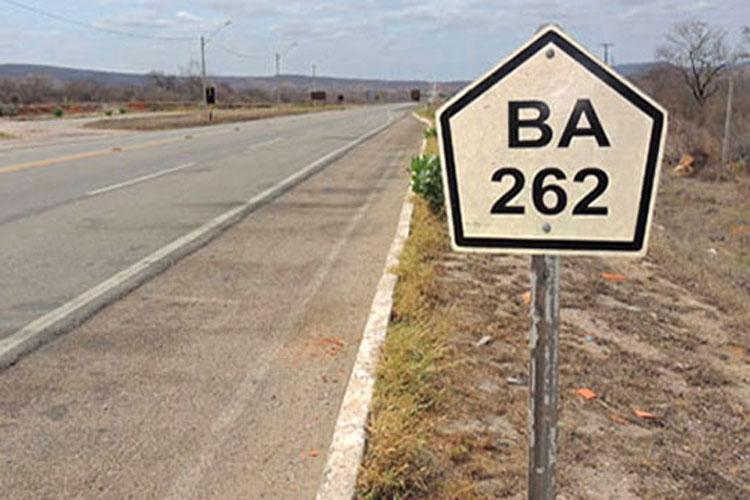 BA-262: Motorista de Livramento de Nossa Senhora relata perigo em trafegar na rodovia