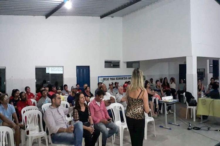 Brumado: Audiência Pública do Plano de Saneamento é realizada no Distrito de Itaquaraí