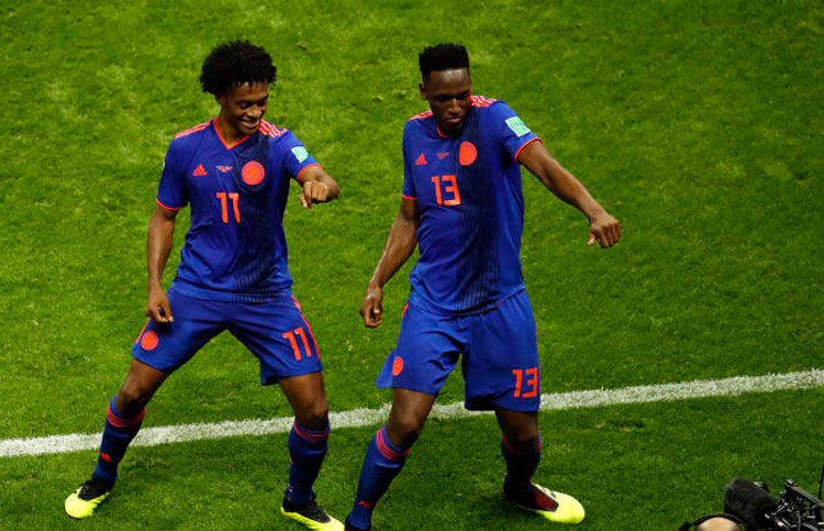 Colômbia marca três gols e elimina a Polônia da Copa do Mundo 2018